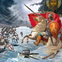 Александр Невский в 70-летие победы
