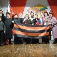 В Дивеево Соратники Оздоровительного блока ЕДИНСТВО в поддержку национального лидера провели патриотический вечер
