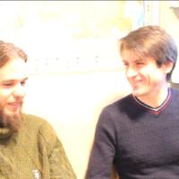 Встреча Андрея Ивашко и Александра Губанищева в студии ГОЗТ ЕДИНСТВО